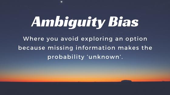 ambiguity-bias